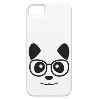 Panda And Glasses iPhone SE/5/5s Case