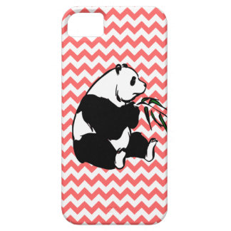 Panda and Pick Your Color Chevron iPhone 5 Covers