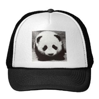 Panda Artwork Mesh Hat