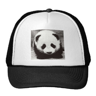 Panda Artwork Trucker Hat