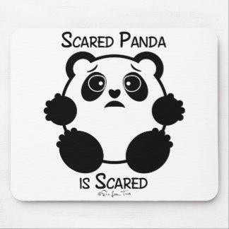 Panda asustada tapete de ratones