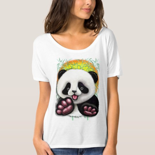 Panda Baby Bear Cute and Happy T-Shirt