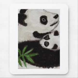 Panda Baby cute art Mousepad Birthday Christmas