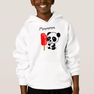Panda baby ice pop kawaii cute hoodie