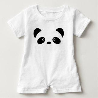 Panda Baby Romper