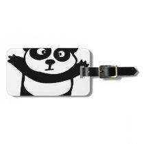 panda bag tag