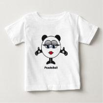 Panda Ball Baby T-Shirt