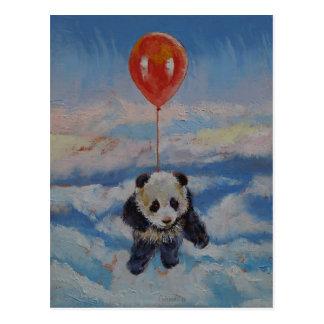 Panda Balloon Postcard