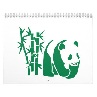 Panda Bamboo Calendar