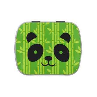 panda_bamboo jelly belly candy tins