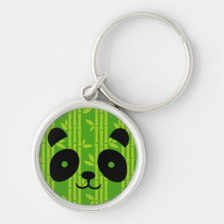 panda bamboo keychain