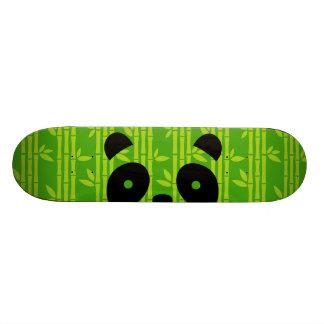 panda_bamboo skateboard deck