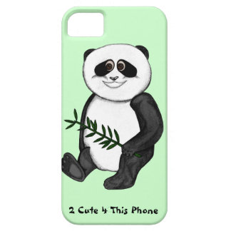 Panda-Bär del niedlicher de Zu Funda Para iPhone SE/5/5s