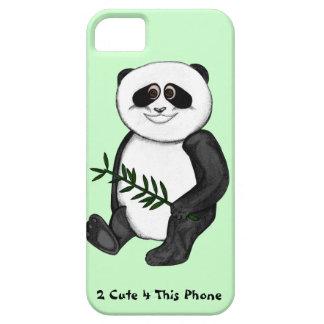 Panda-Bär del niedlicher de Zu iPhone 5 Carcasa