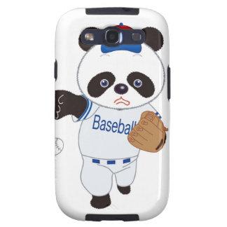 Panda Baseball Player Pitching a Baseball Galaxy S3 Case
