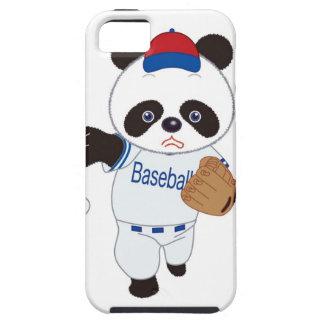 Panda Baseball Player Pitching a Baseball iPhone SE/5/5s Case