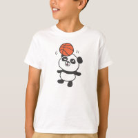 Panda×Basketball 01 T-Shirt