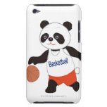 Panda Basketball Player Dribbling Barely There iPod Cases