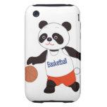 Panda Basketball Player Dribbling iPhone 3 Tough Covers