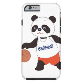 Panda Basketball Player Dribbling Tough iPhone 6 Case