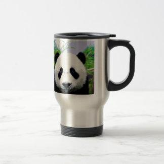 Panda Bear 15 Oz Stainless Steel Travel Mug