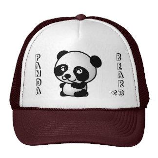 Panda Bear <3 hat