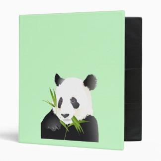 Panda Bear 3 Ring Binder