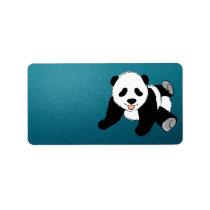 PANDA BEAR ADDRESS LABEL