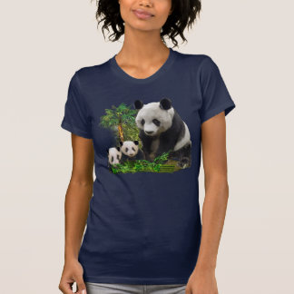 Panda Bear and cubs clothing T-Shirt