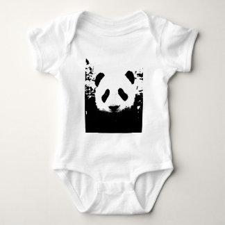 Panda Bear Baby Bodysuit