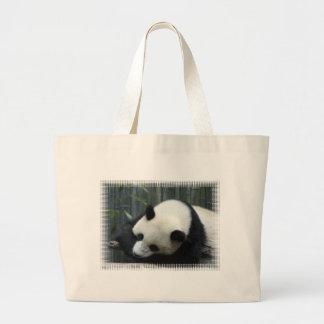 Panda Bear Canvas Bag