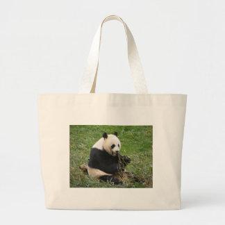 Panda Bear Canvas Bags