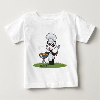 Panda Bear Barbecue Baby T-Shirt