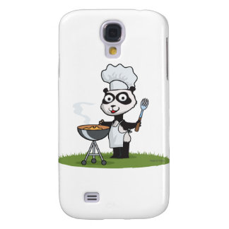 Panda Bear Barbecue Galaxy S4 Case