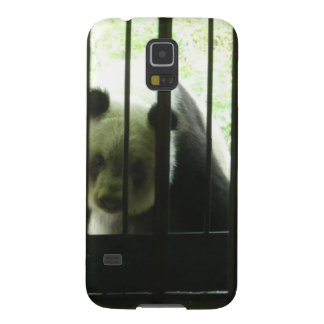 Panda Bear Behind Bars Galaxy S5 Case