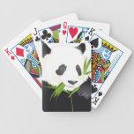 Panda Bear Bicycle Poker Cards