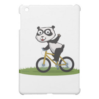 Panda Bear Biker iPad Mini Case