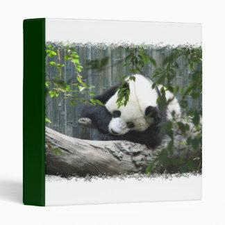 Panda Bear Binder