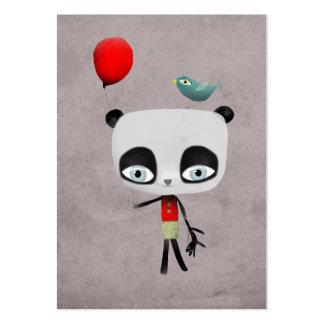 Panda bear bird cat customizable business card