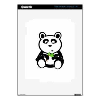 Panda Bear Black White Destiny Gifts iPad 3 Skin