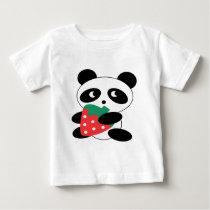 Panda bear Blank Baby T-Shirt