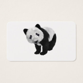 Panda Bear Business Card