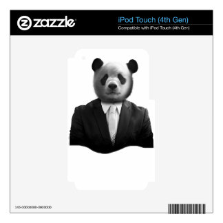 Panda Bear Business Suit iPod Touch 4G Skin