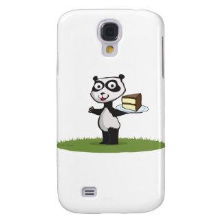 Panda Bear Cake Samsung Galaxy S4 Case