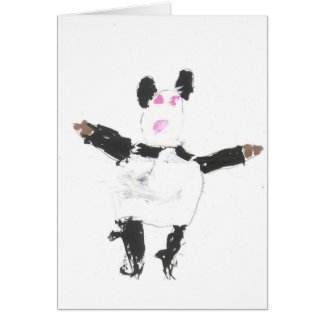 Panda Bear-card Card