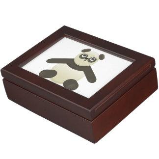Panda bear cartoon memory box