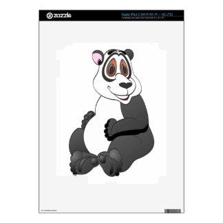 Panda Bear Cartoon Decals For iPad 3