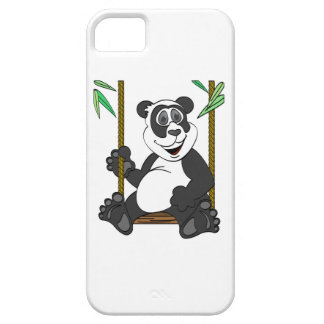 Panda Bear Cartoon Swing iPhone SE/5/5s Case