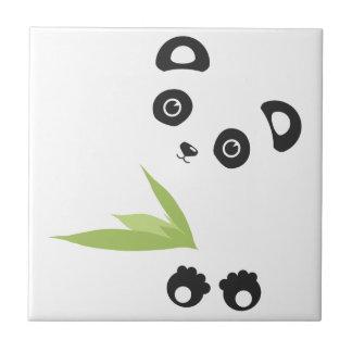 Panda Bear Ceramic Tile
