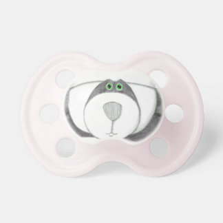 Panda Bear Chef Chocolate Pacifier